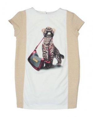 Платье EAN 13. Цвет: слоновая кость