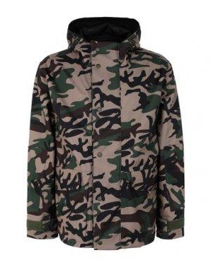 Куртка STUSSY. Цвет: зеленый-милитари