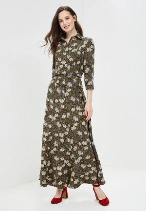 Платье Argent. Цвет: зеленый