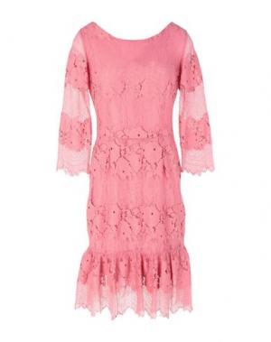 Платье до колена ANNA RACHELE. Цвет: розовый
