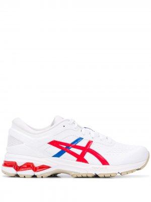 Кроссовки с логотипом ASICS. Цвет: белый