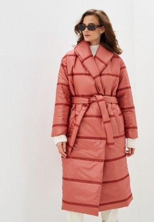 Куртка утепленная Vivaldi. Цвет: коралловый