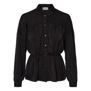 Рубашка с длинными рукавами VERO MODA. Цвет: черный,экрю