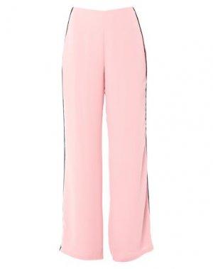Повседневные брюки FOREVER UNIQUE. Цвет: пастельно-розовый