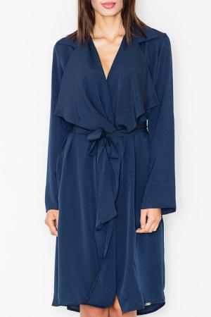 Пальто Figl. Цвет: navy blue