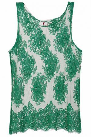 Блуза P.A.R.O.S.H.. Цвет: зеленый