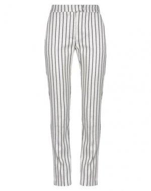 Повседневные брюки 1-ONE. Цвет: светло-серый