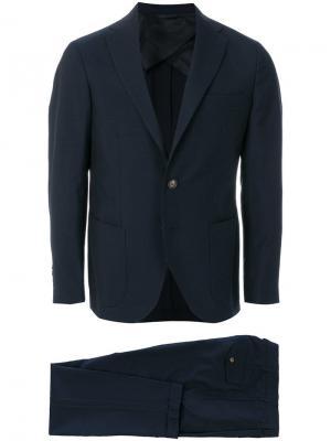 Однобортный пиджак Doppiaa. Цвет: синий