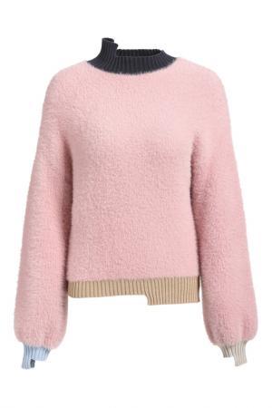 Пуловер Apart. Цвет: бордовый