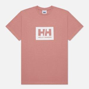 Мужская футболка Tokyo Helly Hansen. Цвет: розовый