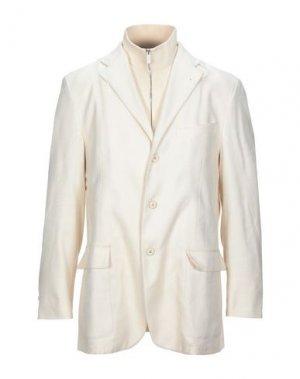 Пиджак CORNELIANI ID. Цвет: слоновая кость