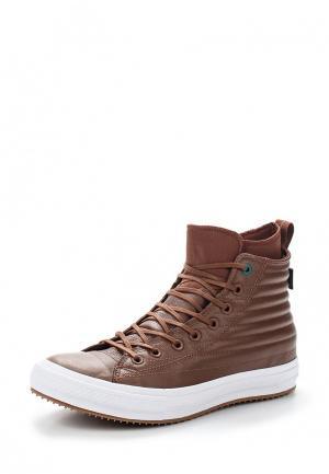 Кеды Converse Chuck Taylor WP Boot. Цвет: коричневый