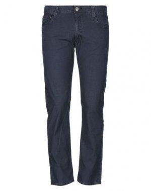 Повседневные брюки HTC. Цвет: синий