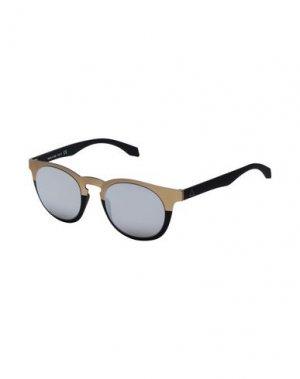 Солнечные очки ALSTECA. Цвет: бронзовый
