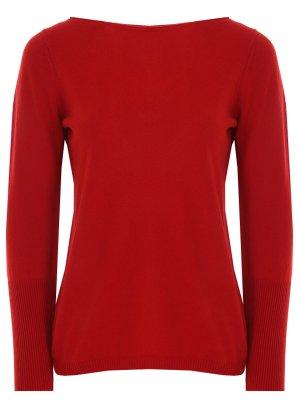 Пуловер кашемировый Gran Sasso. Цвет: красный