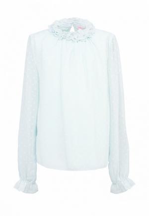 Блуза Красавушка. Цвет: бирюзовый