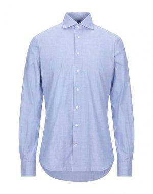 Pубашка HACKETT. Цвет: синий