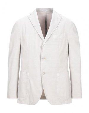 Пиджак BOGLIOLI. Цвет: светло-серый