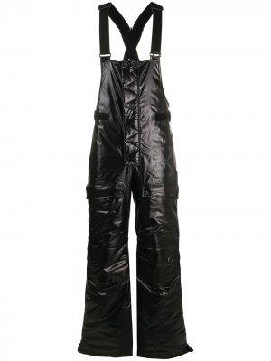 Дутые лыжные брюки Off-White. Цвет: черный