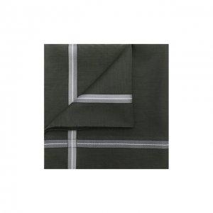 Хлопковый платок Simonnot-Godard. Цвет: зелёный