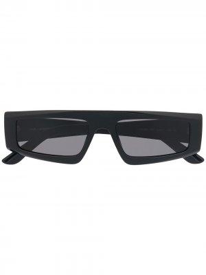 Солнцезащитные очки-авиаторы Essential Karl Lagerfeld. Цвет: черный