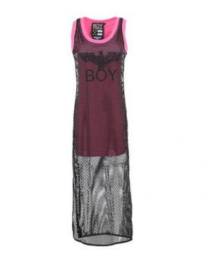 Длинное платье BOY LONDON. Цвет: фуксия