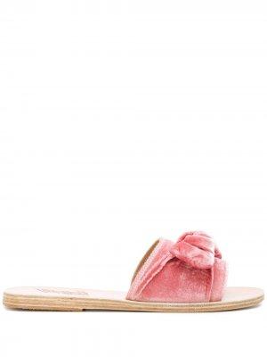 Сандалии Taygete Bow Ancient Greek Sandals. Цвет: розовый