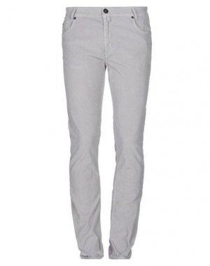Повседневные брюки AERONAUTICA MILITARE. Цвет: светло-серый