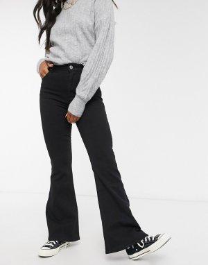 Черные расклешенные джинсы в винтажном стиле -Черный Cotton:On