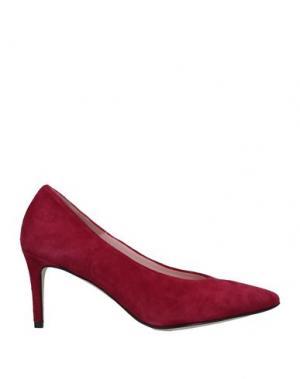 Туфли ANNA F.. Цвет: пурпурный