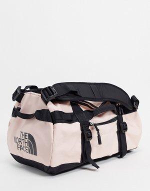 Маленькая спортивная сумка розового цвета Base Camp, вместимость 31 л-Розовый цвет The North Face