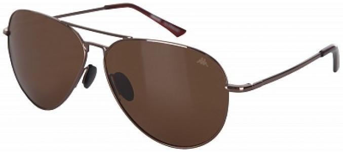 Солнцезащитные очки Kappa. Цвет: коричневый