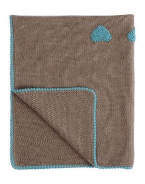 Одеяльце для младенцев COLIBRI. Цвет: хаки