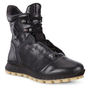 Ботинки высокие EXOSTRIKE W ECCO. Цвет: черный