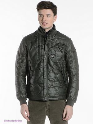 Куртка Duck and Cover. Цвет: зеленый