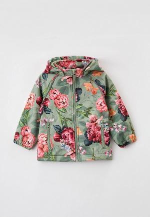 Куртка Name It. Цвет: зеленый