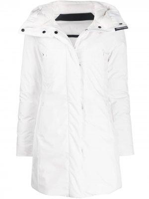 Hooded Lubiana jacket Freedomday. Цвет: белый
