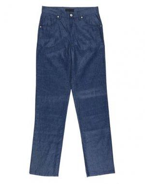 Повседневные брюки CORTIGIANI. Цвет: темно-синий