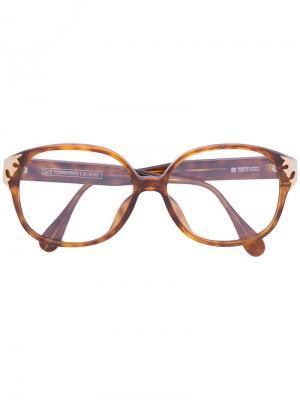 Солнцезащитные очки в черепаховой оправе Christian Lacroix Pre-Owned. Цвет: коричневый