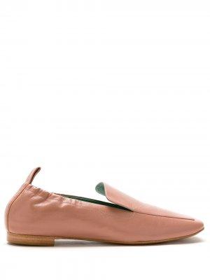 Слиперы Attarine Blue Bird Shoes. Цвет: коричневый