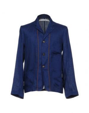 Пиджак UMIT BENAN. Цвет: синий