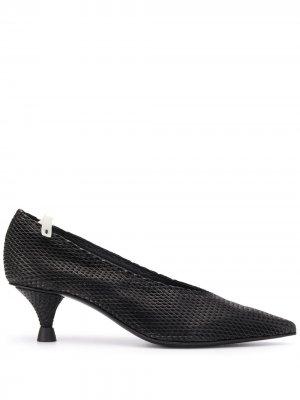 Фактурные туфли Premiata. Цвет: черный
