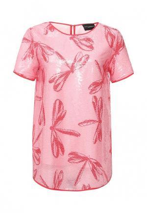 Блуза Atos Lombardini AT009EWPBZ50. Цвет: розовый
