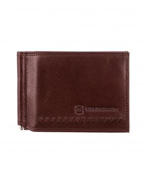 Зажим для денег WT-0176 BROWN HENDERSON. Цвет: коричневый