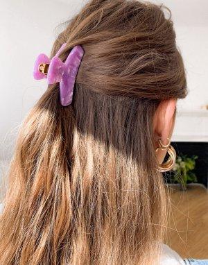 Фиолетовая заколка для волос -Фиолетовый цвет & Other Stories