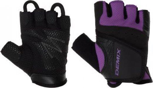 Перчатки для фитнеса , размер 42 Demix. Цвет: фиолетовый