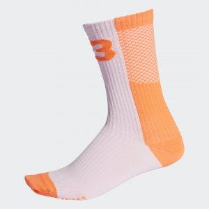 Носки Y-3 Colorblock by adidas. Цвет: оранжевый