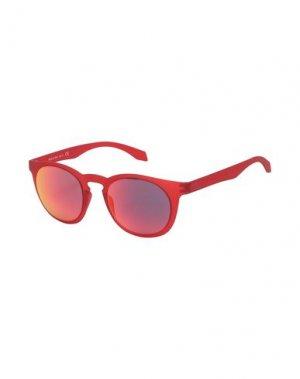 Солнечные очки ALSTECA. Цвет: красный