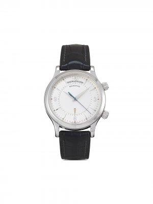 Наручные часы Master Memovox pre-owned 36 мм 2001-го года Jaeger-LeCoultre. Цвет: серебристый
