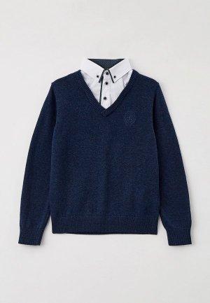 Пуловер Ostin O'stin. Цвет: синий